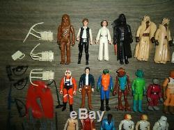 100% vintage original Star Wars Kenner action figure weapons lot