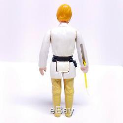 1977 ORANGE HAIR FARMBOY LUKE SKYWALKER Vintage Star Wars Action Figure Kenner