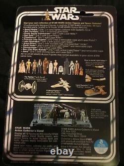 1977 Vintage Kenner Star Wars Darth Vader Action Figure on card, Hong Kong READ