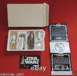 1977 Vintage Star Wars Early Bird Set w Sealed Action Figures (Leia Error READ)