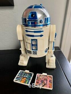 1978 Kenner Vintage Star Wars 12 inch R2-D2 figure complete 100% Original