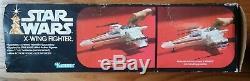 1978 Star Wars X WING FIGHTER 1st RUN ORIGINAL LP box Vintage Kenner 38030 1977
