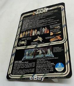 1978 Vintage Star Wars Death Squad Commander Figure 12 Back Carded MOC Sealed