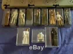 1978 Vintage Star Wars First 12 Complete Afa Graded Leia R2 Vader