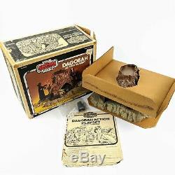 1980 Star Wars Vtg Empire Strikes Back ESB Dagobah Playset, with original box