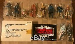 1980 Vintage Kenner JCPenney Star Wars ESB 10-Pack Baggie Figure Mailer Pack