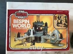 1982 Kenner Vintage Star Wars Micro Collection Bespin World ESB FAC SEALED BOX