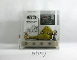 1983 Vintage Star Wars Jabba The Hutt Kenner Playset Ukg 90 Gold Afa