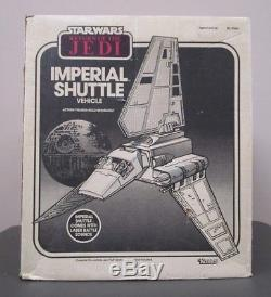 1984 Imperial Shuttle STAR WARS 100% Complete Vintage Original w Box INSERTS