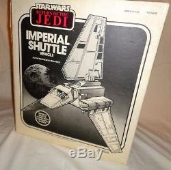 1984 Vintage Kenner Star Wars ROTJ Imperial Shuttle Complete Boxed Mint Inserts