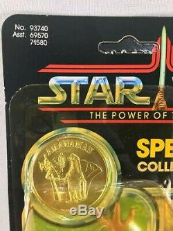 1984 Vintage Kenner Star Wars The Power Of The Force Amanaman POTF Unpunched