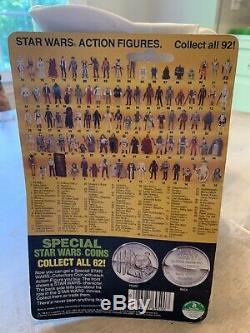 1984 Vintage Star Wars POTF Jawa MOC Collectors Coin 92 Back
