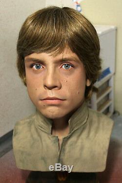 1/1 Lifesize CUSTOM Luke Skywalker bust Vintage Star Wars ESB prop IN STOCK