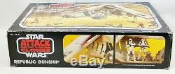 2013 Star Wars Vintage Collection Attack of The Clones Republic Gunship No. A4646