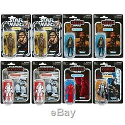 2019 Hasbro Star Wars The Vintage Collection TVC 3.75 Wave 6 Sealed Case