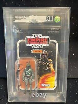 2019 Star Wars Vintage Collection VC09 Boba Fett ESB AFA U9.0