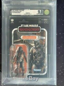 2020 Star Wars Vintage Collection VC166 The Mandalorian AFA U9.0