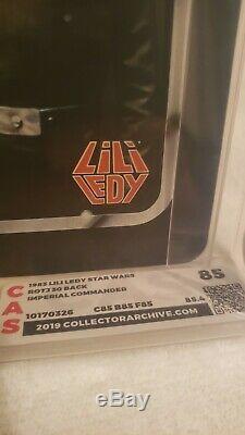2 MOC Lily Ledy! Imperial Commander CAS85 Chewbacca 75. AFA it Vintage Star Wars
