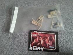 3 Vintage Star Wars AT-ATs Kenner USA All ESB editions Accessories + Rebate