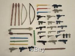 41 Vintage Star Wars Weapons Figures Repros NICE