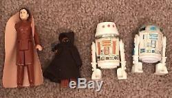 49 Vintage Star Wars Action Figures Mint Luke Leia Han Obi Wan Near Complete