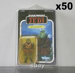 50 x Action Figure Case New & Vintage Style Star Wars or GI Joe Carded Figures
