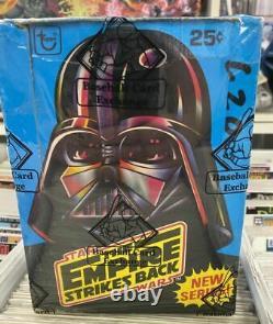 BBCE sealed vintage 1980 Topps Star Wars Empire Strikes Back wax box Series 2