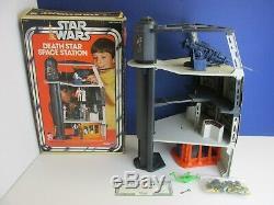 COMPLETE star wars VINTAGE DEATH STAR SPACE STATION PLAYSET original KENNER 1977