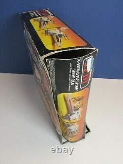COMPLETE star wars VINTAGE X WING FIGHTER original BOXED kenner BATTLE DAMAGED