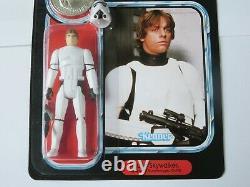 CUSTOM Vintage Luke Skywalker Stormtrooper POTF WithCoin MOC Carded Star Wars