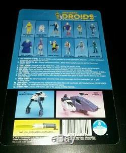 C-3PO DROIDS cartoon Vintage Star Wars KENNER 1985 ORIGINAL