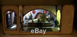 Custom Star Wars JABBA The Hutt's PALACE Diorama for 3 3/4 figure Vintage Jabba