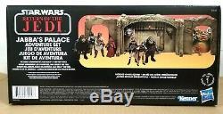 HASBRO STAR WARS VINTAGE COLLECTION 3.75 inch JABBAS PALACE ADVENTURE PLAY SET