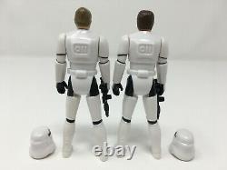 Han Solo & Luke Stormtrooper Outfit Star Wars repro custom vintage-style figures