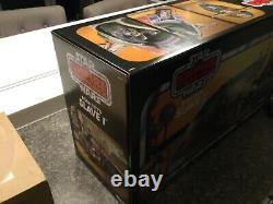 Hasbro Star Wars The Vintage Collection Boba Fett's Slave 1 Case fresh mint