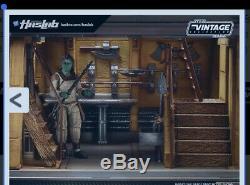 Haslab Khetanna Jabba's Sail Barge NIB Star Wars Vintage With POTF Yak Face & Book