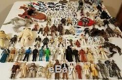 Huge Lot of 85 Star Wars Action FiguresVINTAGELEGACYSAGAHASBROKENNERBLACK2