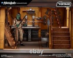 IN HAND! Star Wars Vintage Collection Jabbas Sail Barge Khetanna Yakface HasLab