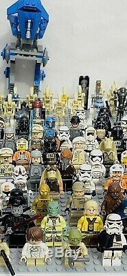IN PREP! LEGO Star Wars Lots 4 Minifigures / Droid Weapons &used Jedi Lot