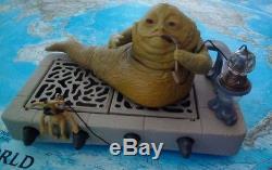 Jabba the Hut Vintage Star Wars Playset Original Kenner, 1983 SUPER Zustand TOP