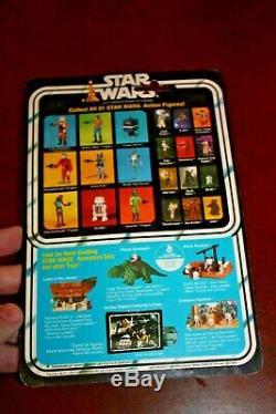 Kenner Star Wars 1978 21-Back Han Solo AFA MOC Vintage withcase big head READ