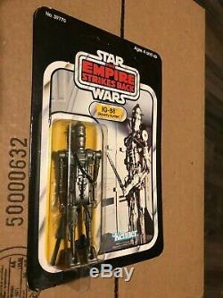 Kenner Star Wars Empire Strikes Back IG-88 sealed 32 back no offer vintage