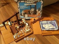 Kenner Star Wars Vintage 1979 DROID FACTORY Almost Complete, Original with Box