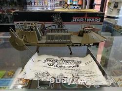 Kenner Vintage Star Wars Tatooine Skiff 1984 Loose Complete With Box Rare