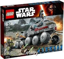 LEGO 75151 Star Wars Clone Turbo Tank Building Kit 903 Pcs