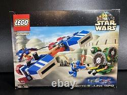 LEGO Star Wars 7186 Wattos Junkyard Rare 2001 Set New in Sealed Box