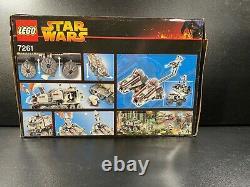LEGO Star Wars 7261 Clone Turbo Tank Sealed in Box Mace Windu 2005