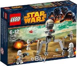 LEGO Star Wars 75036 Utapau Troopers BRAND NEW SEALED Retired Set
