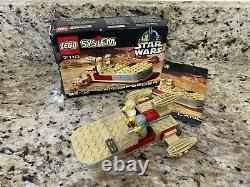 LOT (10) Vintage LEGO STAR WARS SETS 7143 7126 7139 7127 7124 7104 7119 + BOXES