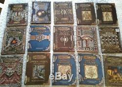 LOT of 98 RPG BOOKS- D&D, Star Wars, LOTR, Marvel, OOP Classic Vintage, LN